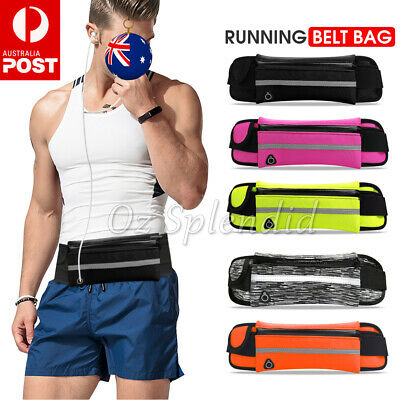 Running Bum Bag Fanny Pack Travel Waist Bags Money Zip Belt Pouch Sports Wallet