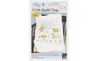 Jack Dempsey Jdn4060.681 Jdn4060 681 Crib Quilt Top Bedtime Stories