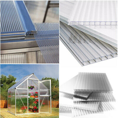 4mm Polycarbonate Sheet Greenhouse Replacement Panels Sunhouse Glazing Twinwall