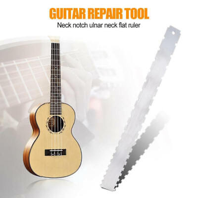 Guitar Neck Notched Straight Edge and Fret Rocker Luthier Tools Function  ert