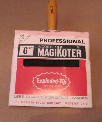 """Wooster Professiona 6"""" Magikoter Paint Brush Reduced 5%"""