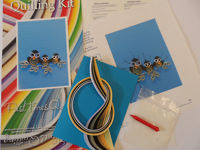 Quilling Kit for Beginners and Children. Owls