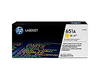 HP CE342A (651A) Genuine Yellow [16K Page] Toner Cartridge