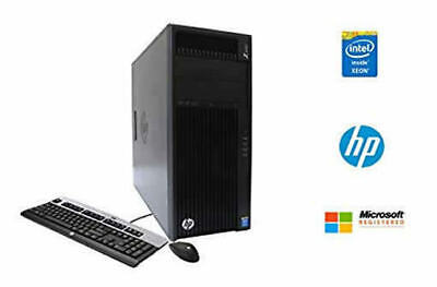 HP Z440 WORKSTATION INTEL XEON E5-1620v3 3.5GHZ 64GB 2TB+256 SSD V4800 WIN10
