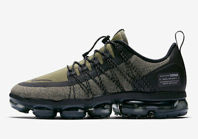 Nike Air Vapormax Run Utility Men Size 7.0 Olive Reflective Running New Rare