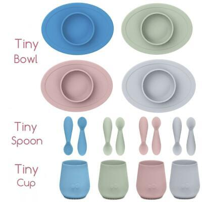 Ezpz Tiny Collection Silicone Feeding Baby Led Weaning Bowls Spoons Cups