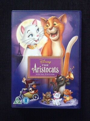 Disney Dvd The Aristocats Special Edition. Yellow Classic Number 20