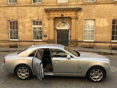 Rolls Royce Ghost Limo Wedding & Prom Limousine Car Hire, Leeds, Yorkshire.