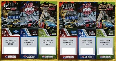REDUCED AGAIN 50% OFF  ...Nascar Tickets In Las Vegas Sept.13-15