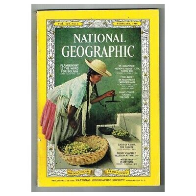 National Geographic Magazine February 1966 MBox230 Water War in Vietnam