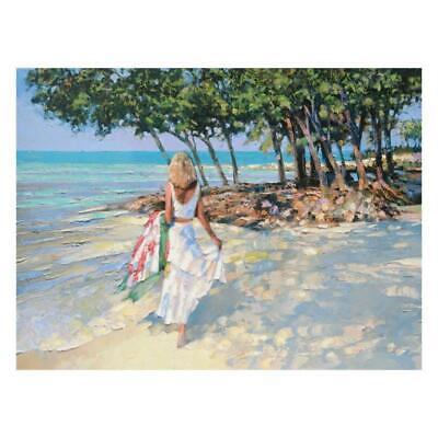 """Howard Behrens """"My Beloved"""" Limited Edition On Canvas; COA"""