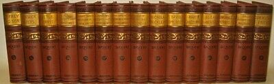 Works of CHARLES DICKENS! VICTORIAN BINDINGS!not leather COMPLETE SET/RARE MINT+