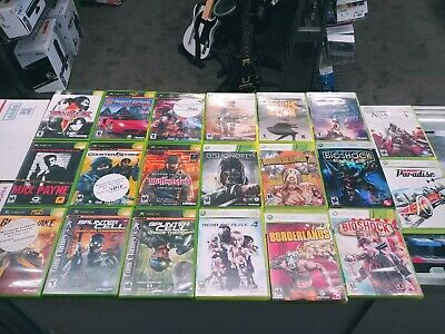 XBOX Original & 360 BULK WHOLESALE GAME BUNDLE LOT - MOST BACKWARDS COMPATIBLE