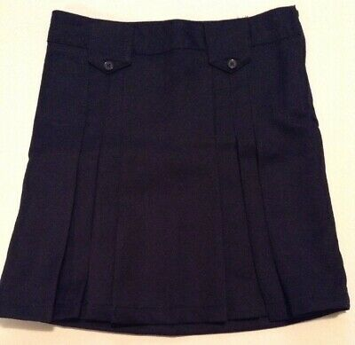 FRENCH TOAST GIRLS SCHOOL UNIFORM NAVY PANTS SIZE 16 ADJ.WAIST,NWT:FREE SHIP