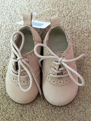 Janie and Jack Toddler Shoes 2009 Spring Best [beige / size 4} RP $42 WOW! RARE