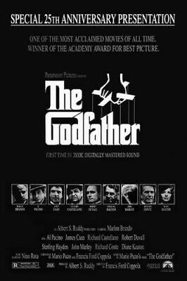 The Godfather Part III Al Pacino Classic Movie Poster Wall Decor X-85