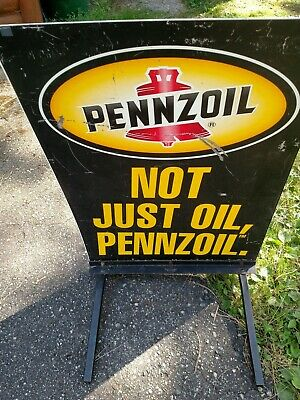 Pennzoil metal sign