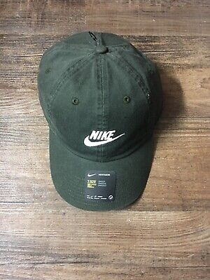 05418b57f NIKE HERITAGE 86 Futura Unisex Cap / Hat NEW Adjustable H86 Sequoia ...