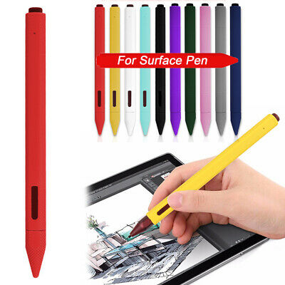 Skin Stylus Silicone Case Nib Cover For Microsoft Surface Pen Stylet Pro Book