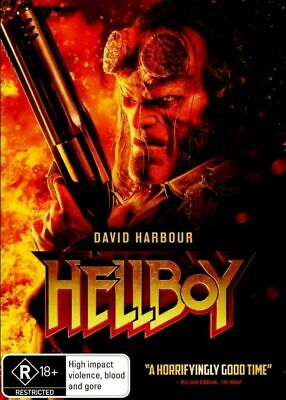 Hellboy : 2019: NEW DVD : Aussie Stock : *Wednesday SPECIAL* David Harbour