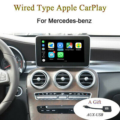 MERCEDES-BENZ CARPLAY ANDROID auto fool-type OBD brush