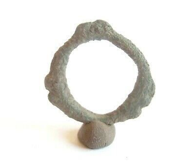 KNOBBED RING Proto Money Ancient CELTIC Bronze PROTO CURRENCY -Hallstatt Culture