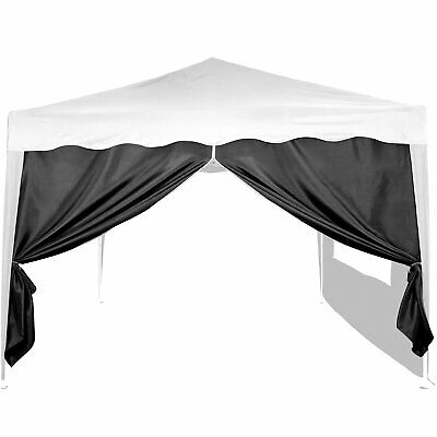 Basic Side Wall/Side Panel for Gazebos, 3 x 3 m, with Zip or Window, Water