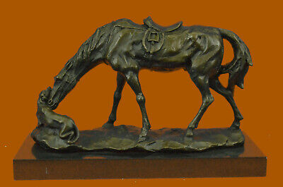 Lovely Vintage Austrian Vienna Bronze Horse With Fantastic Details & Workmanship