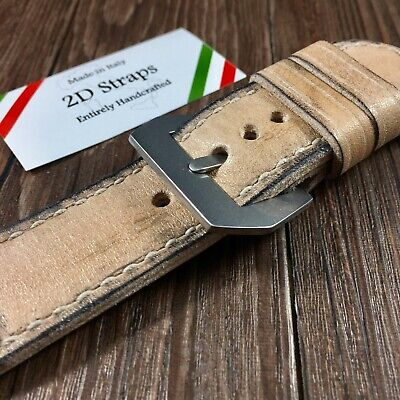 Vintage leather Watch Strap 26mm for Panerai 26 orologio Cinturino Pelle GPF 372