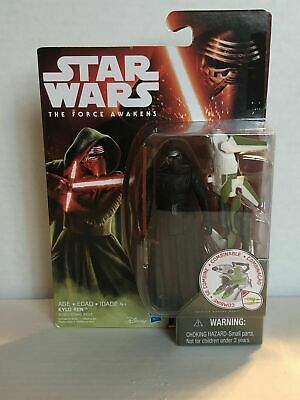 """Star Wars The Force Awakens Kylo Ren Forest Mission 3.75"""" Action Figure"""
