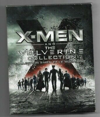 Sealed BLU-RAY DISC  X-MEN & The WOLVERINE COLLECTION 6 MOVIES - Also In French
