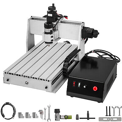 3 Axis CNC Router 3040 Engraving Milling Machine 1202 Trapezoidal Screws Cutter