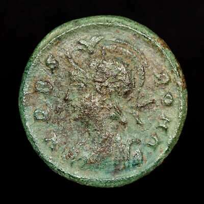 *Lucernae* City Commemorative Follis Shewolf and twins Nicomedia 330 - 346 A.D.