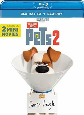 The Secret Life of Pets 2 (3D Blu-ray + Blu-ray) *Pre-order Now, Ships10/15