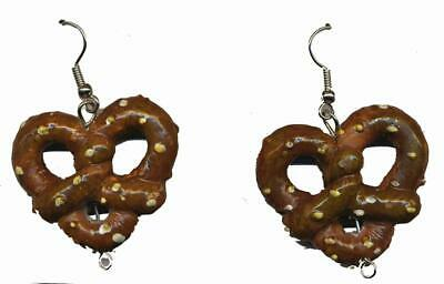Oktoberfest Pretzel Costume Earrings