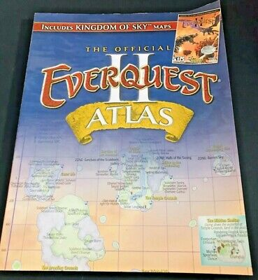 EVERQUEST ATLAS: THE maps of Myrist - including sleeve, good