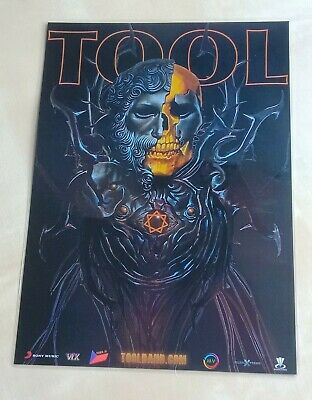 Tool Band - 2019/2020 Tour Poster - Promotional Art - Laminated Promo New Poster