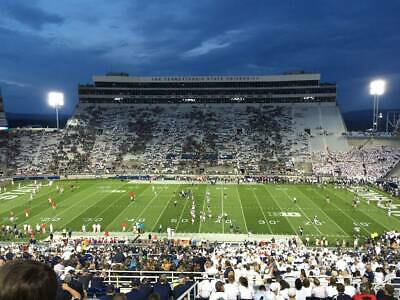 2 Penn State Vs Rutgers Football Tickets - 45 Yard Line - Awesome Seats