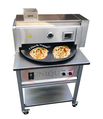 """Commercial Automatic Rotary Tandoor Oven Roti Naan Machine 26"""" Disk"""