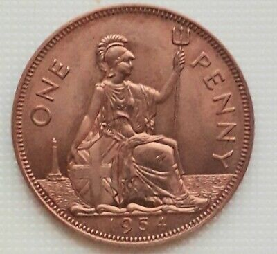 1954 retro gap-filler Penny, exact same size/weight as a Penny.
