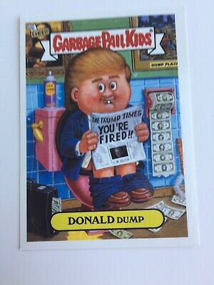 2004 Garbage Pail Kids GPK Donald Dump Very Good Condition