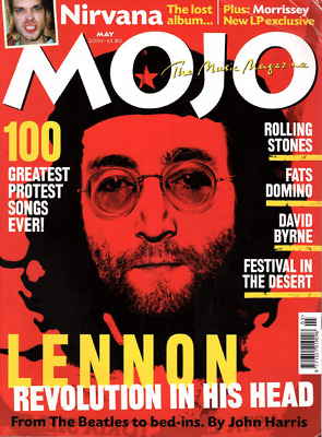 MOJO MUSIC MAGAZINE.May 2004. JOHN LENNON, NIRVANA, ROLLING STONES. NO CD