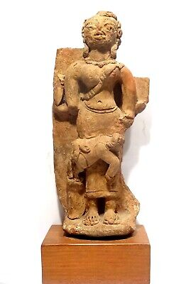 Statuette Votive - Sacrifice  - Inde 400 Ad - Indian Terracotta Votive Sculpture