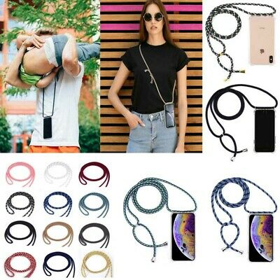 Neck Lanyard Strap Cross Body iPhone Case For iPhone6S MAX 7 8Plus 11 Pro MAX S8