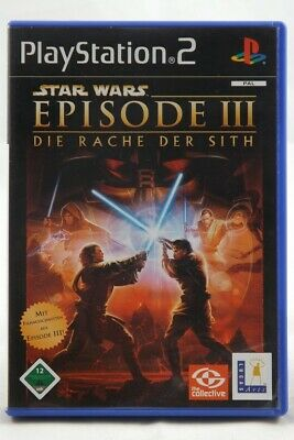 Star Wars: Episode III Die Rache der Sith (Sony PlayStation 2) PS2 Spiel in OVP