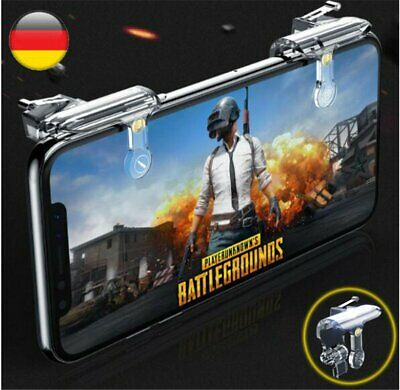 2 PUBG Handy Mobile Shooter Controller Gaming Trigger Gamepad Für iPhone Android