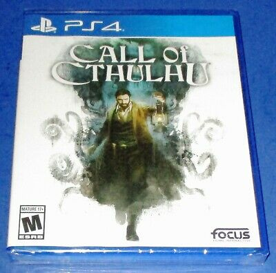 Call of Cthulhu Sony PlayStation 4 *Factory Sealed! *Free Shipping!