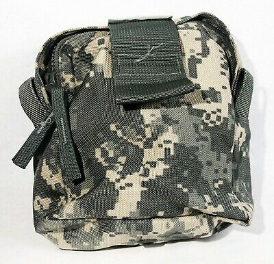USGI ACU MOLLE II Medic Pouch, US Military Digital Camo IFAK Pocket, Army