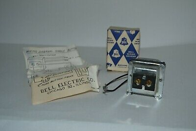 Vintage Bell Electric Transformer Chimes - Door Bell - Original Box & Instructs