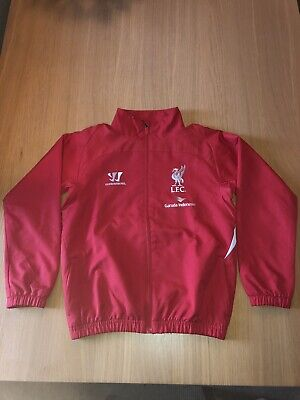 Liverpool FC Warrior Boys Training Jacket Mint Condition Size MB